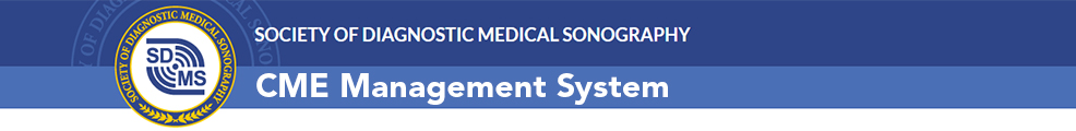 SDMS CME Management System